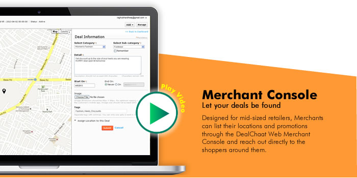 DealChaat for Merchants
