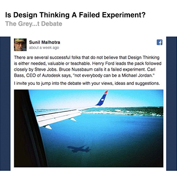 Is Design Thinking a failed experiment? | September 2016