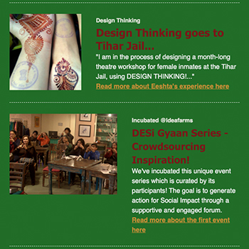 Design Thinking goes to Tihar Jail, Crowdsourcing inspiration and more | December 2016