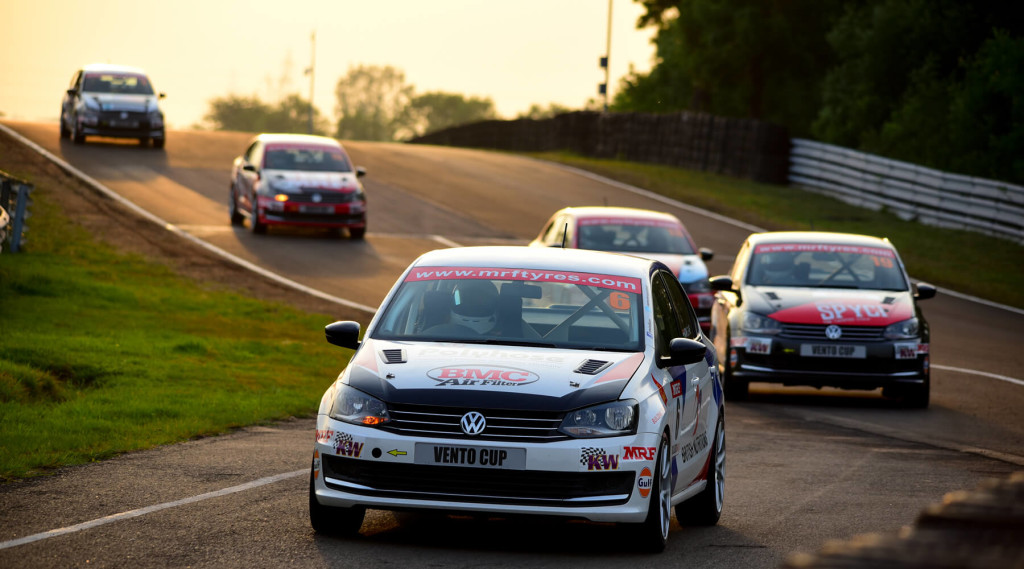 Riding into the sunset. Image © Volkswagen Motorsport India